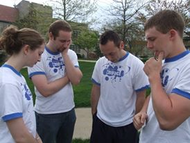 Early Impact UMKC Leaders Pray